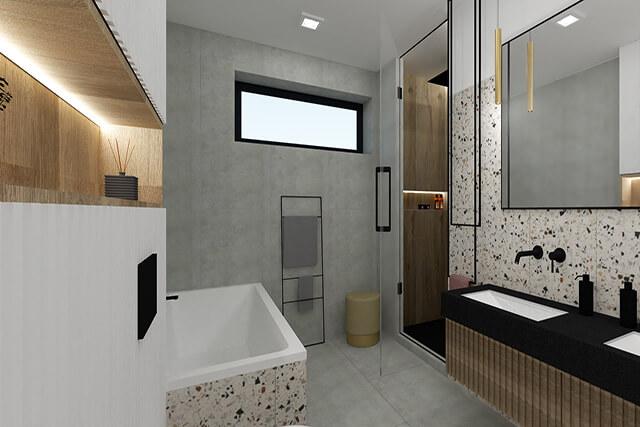 Łazienka I - wizualizacja 3