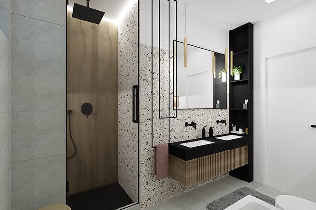 Łazienka I - wizualizacja 4