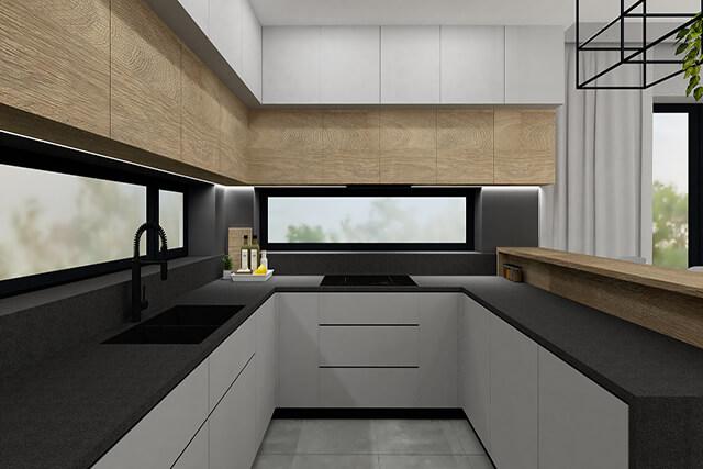 Kuchnia - wizualizacja 1
