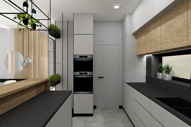 Kuchnia - wizualizacja 2